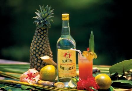 Combiné Martinique Guadeloupe Les Saintes : Cocktail planteur