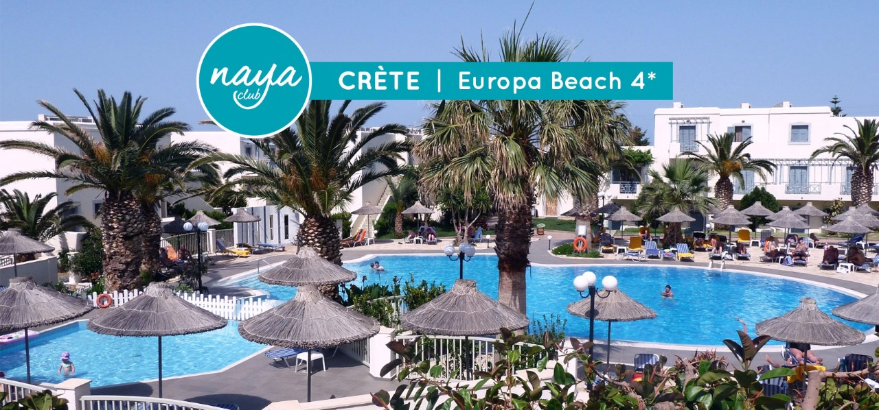 NAYA CLUB EUROPA BEACH 4****, Heraklion