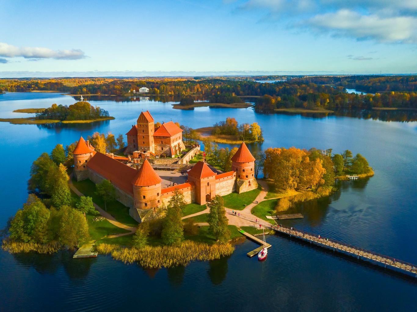 Danemark - Estonie - Finlande - Lettonie - Lituanie - Pologne - Russie - Suède - Circuit Cap sur la Baltique