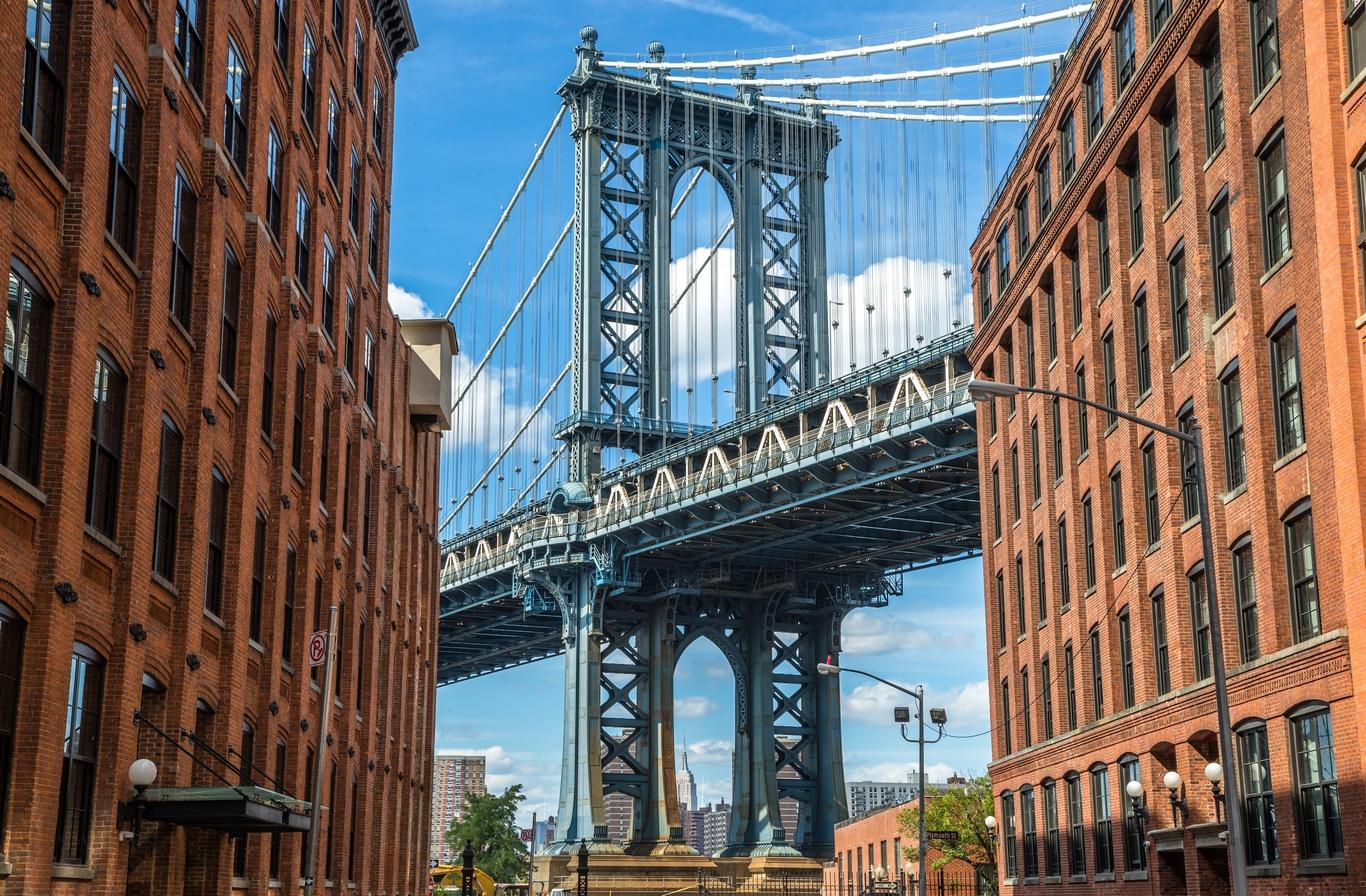 Séjour Est américain - MAGIE DE NEW YORK EXT. BROOKLYN - 7J/5N